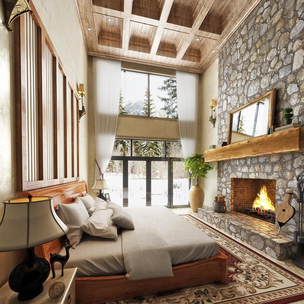 interior design timber home